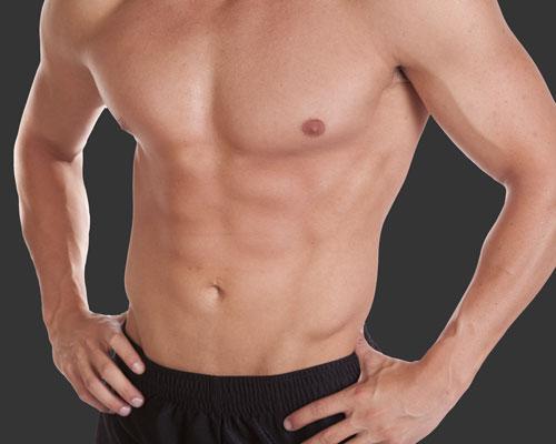 Männer Bauch
